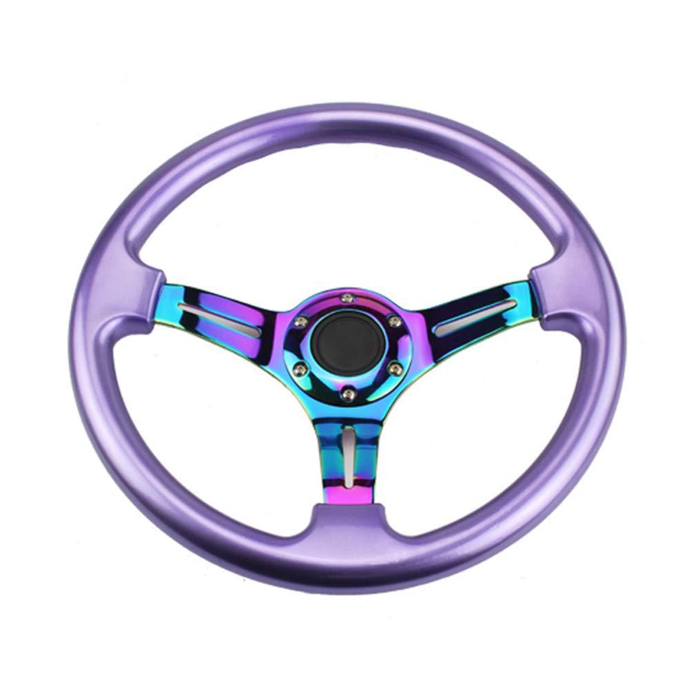 Red Universal Racing Steering Wheel