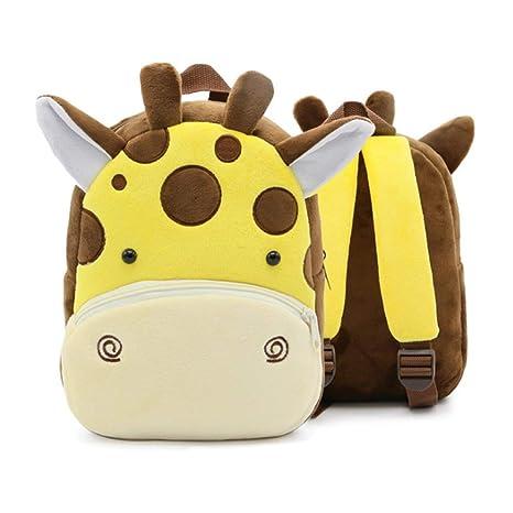 Mochila de guardería Mochila Diseño de jirafa Mochilas para ...