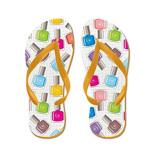 CafePress Nail Polish - Flip Flops, Funny Thong Sandals, Beach Sandals Orange