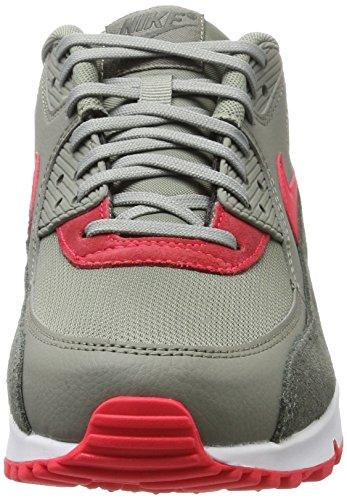 Nike Damen Wmns Air Max 90 Gymnastikschuhe Mehrfarbig (River Rock/Sirena Red-Dark Stucco-White)