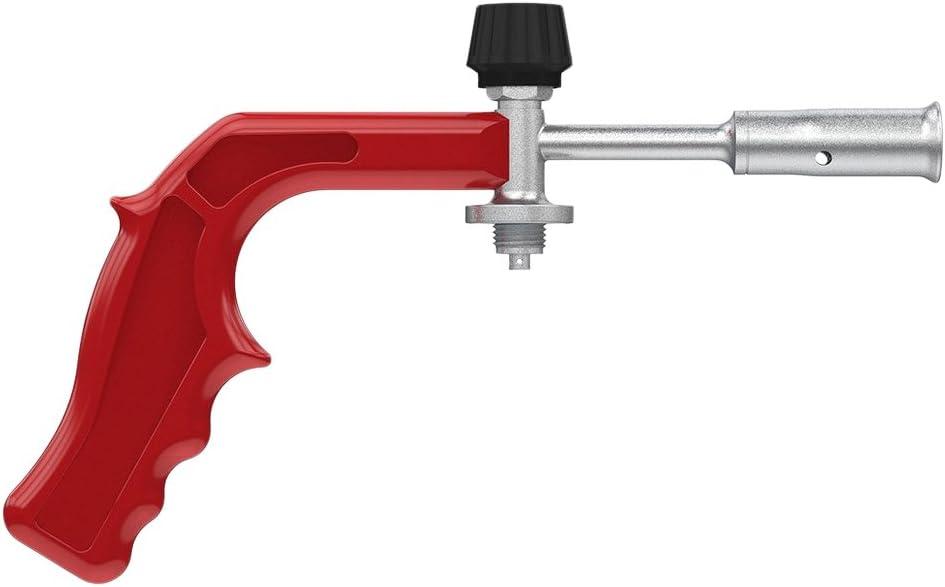 Salki 44200024 Com Gas 240050AN-Soldador a Pistola Adaptable a Botella Popular Azul, 3000 Kcal/h, Multicolor, 2x12x32 cm