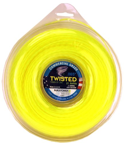 - Maxpower 338812 Premium Twisted Trimmer Line .065-Inch Twisted Trimmer Line 420-Foot Length