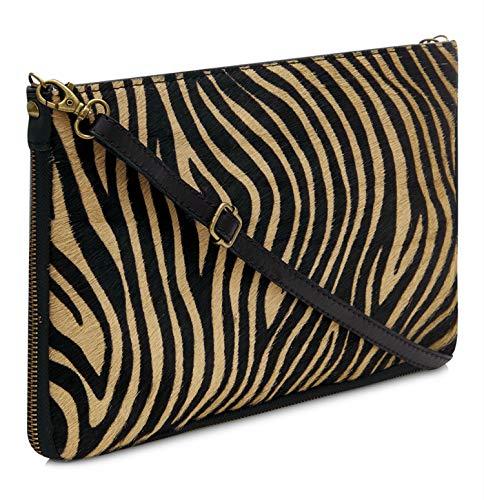 Handbag Shoulder Body Brown Montte Cowhide Di Large Leather Jinne Italian Cross Clutch 100 Leather Genuine fafvxTqHwO