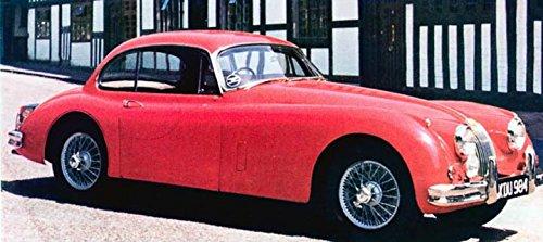 1961 Jaguar XK150 Fixed Head Coupe Factory Photo Fixed Head Coupe
