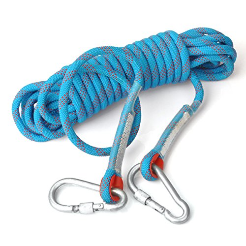 10M Rock Climbing Rope(blue) - 4