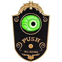 Onh Animated Doorbell Eyeball Halloween Decorations