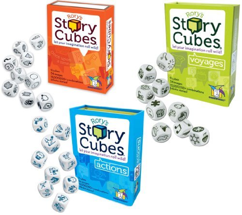 Rory's Story Cube Complete Set - Original - Actions - Voyages [並行輸入品] B07SC5ZYVS