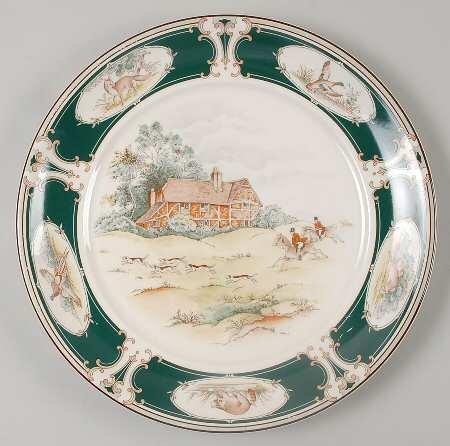 Noritake Pursuit Chop Plate Round Platter 12