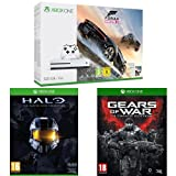 Pack Console Xbox One S 500 Go + Forza Horizon 3 + Halo : Master Chief Collection + Gears of War - Ultimate Edition