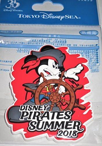 ディズニー パイレーツ・サマー 2018 マグネット ディズニーシー 海賊 ミッキー 東京 ディズニーリゾート 夏 TDR 35周年