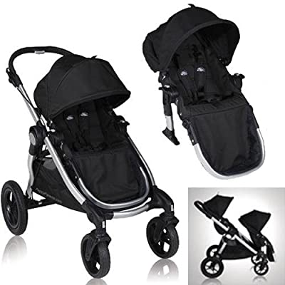 Baby Jogger City Select Stroller With 2nd Seat Onyx from Baby Jogger