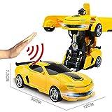 Remote Control Car Remote Control and Gesture Sensing Transformers 1:14 Ratio Simulation Car Model