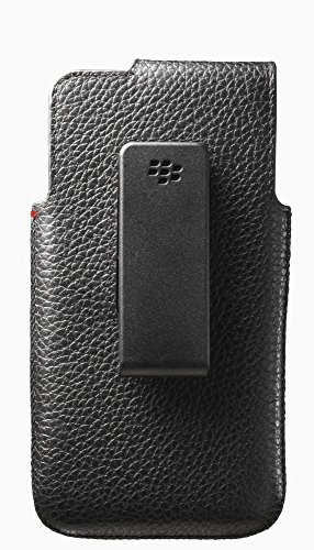 BlackBerry OEM Leather Swivel Holster for BlackBerry Z10 - - Z10 Pouch Blackberry