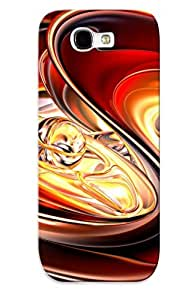 New Cute Funny Sphere In A Shell Case Cover/ Galaxy Note 2 Case Cover