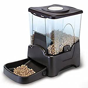 CE Compass Large Automatic Dog Cat Pet Feeder PrograMMable Portion Control W/ LCD Display