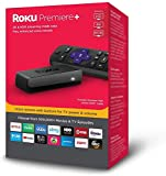 Roku Premiere+ 4K HDR Streaming Player Plus Enhanced Point-anywhere Voice Remote with TV Power and Volume Buttons