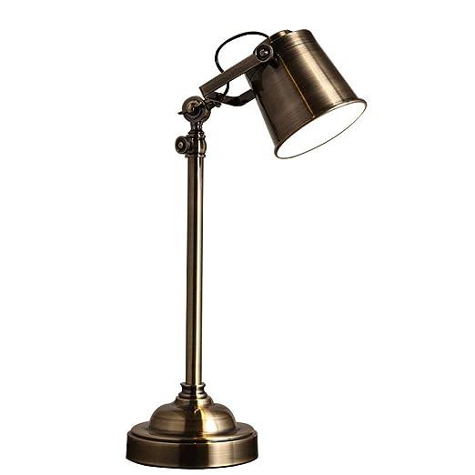 Wangyi Lámpara de Mesa- Lámpara de Mesa Habitación de Estudio de ...