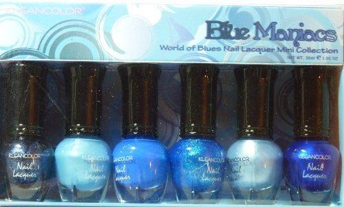 Kleancolor Nail Lacquer Collection Mini - Bleu Maniacs (NPC602)