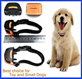 DOGTECH Miniture 665 Vibration No Hurt Bark Dog Collar Extra Small Toy Dogs 4lbs to 14lbs Bark Training Solution 2018 Best Anti Bark Collar 100% Lifetime Product Warranty