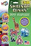 Zoo Safari Shrinky Dinks in 3D
