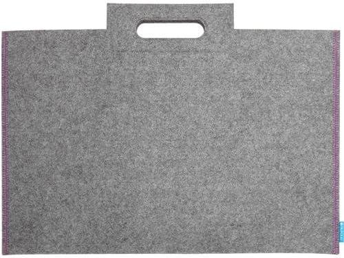 Itoya Profolio Midtown Bags 17x23 Inches Grey