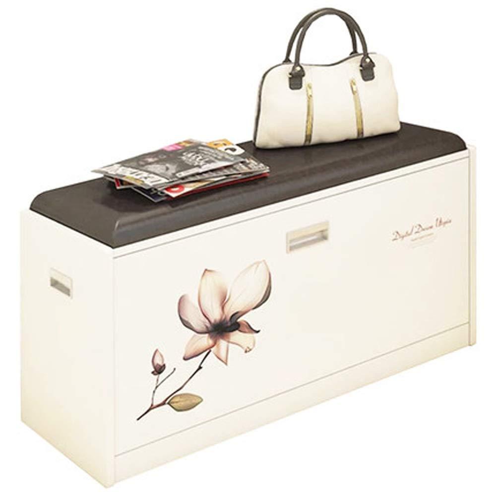 ZYDSD Schuhregal/Moderne Minimalistische Schuhbank/Schuh Lagerung Lagerung Hocker/Sofa Leder Bank/Schuhe Bank / 24,8 X 11,8 X 17 Zoll Fußstütze Hocker (Color : A)