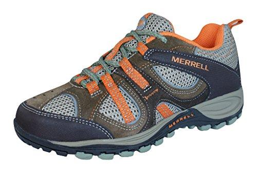 Merrell Yokota Trail Ventilator Boys Hiking Sneakers / Shoes-Brown-3 (Merrell Yokota Ventilator compare prices)