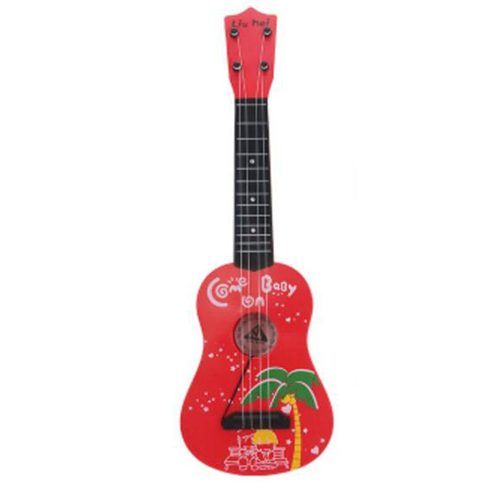 George Jimmy England Musical Instrument Mini Guitar Education Kids Toy Player Kids Gift -#13