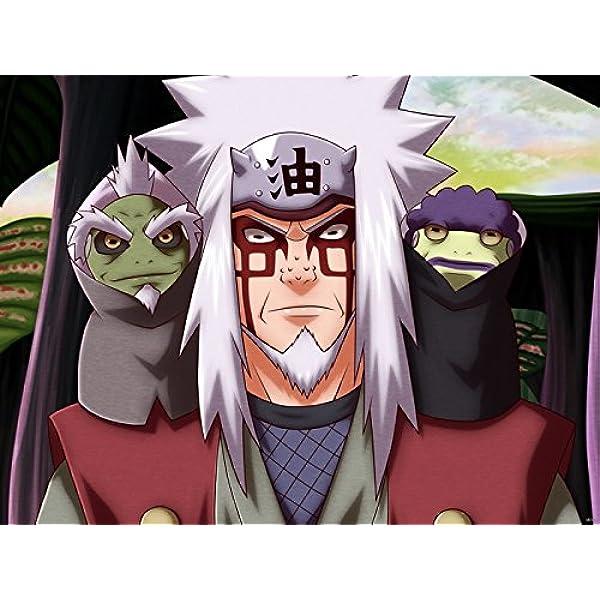 Amazon Com Wv6103 Naruto Jiraiya Toad Sage Fukasaku Shima Anime Manga Art 16x12 Print Poster Posters Prints