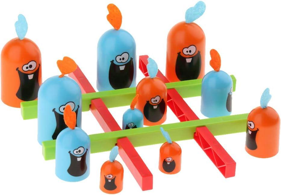 non-brand Juego de Mesa Gobblet Gobblers de Estrategia Clásico Juguete Divertido para Niños: Amazon.es: Juguetes y juegos