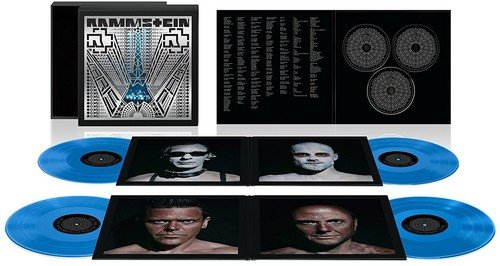 Vinilo : Rammstein - Rammstein: Paris - Super Deluxe Edition (Gatefold LP Jacket, Limited Edition, 180 Gram Vinyl, With Blu-Ray, Boxed Set)