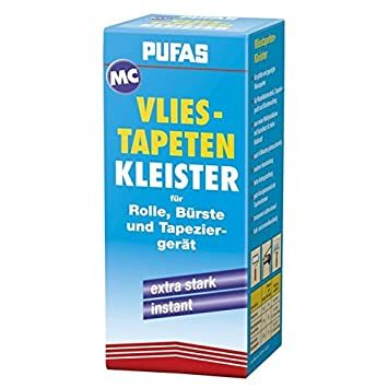 Vliestapeten Kleister kleben tapezieren - PUFAS - 200g: Amazon.de ...