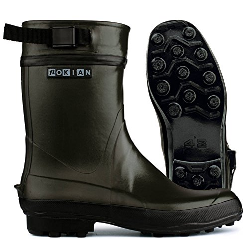 NOKIAN Finntrim Rubber Boots Olive Size 36 2017 Gumboots CsvWQsd