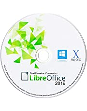 LibreOffice 2019 Compatible With Microsoft Word 2016 2013 2010 2007 365 Word Processor CD Software for PC Windows 10 8.1 8 7 Vista XP 32 64 Bit, Mac OS X & Linux - No Yearly Subscription!