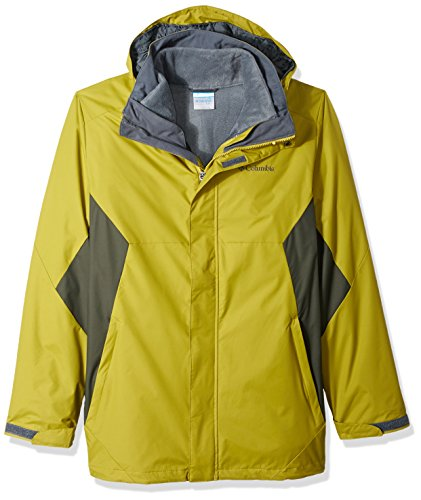 - Columbia Men's Big and Eager Air Interchange 3-In-1 Jacket, Peppercorn, Gravel, Large Tall