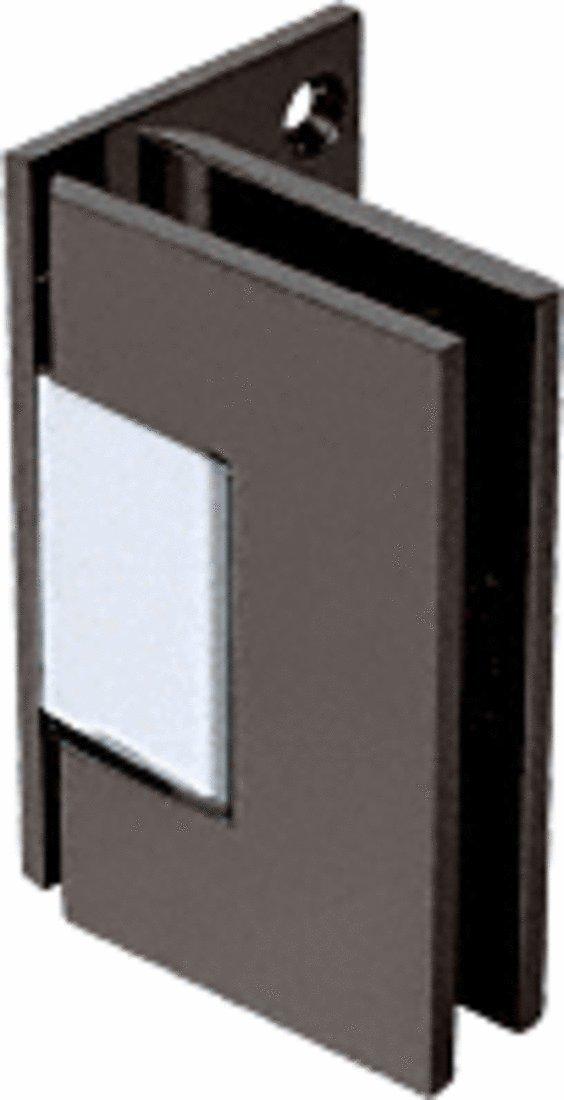 つや消しニッケルGeneva 544シリーズ壁マウントオフセットバックプレートヒンジ B000WNVYRS ブラック ブラック