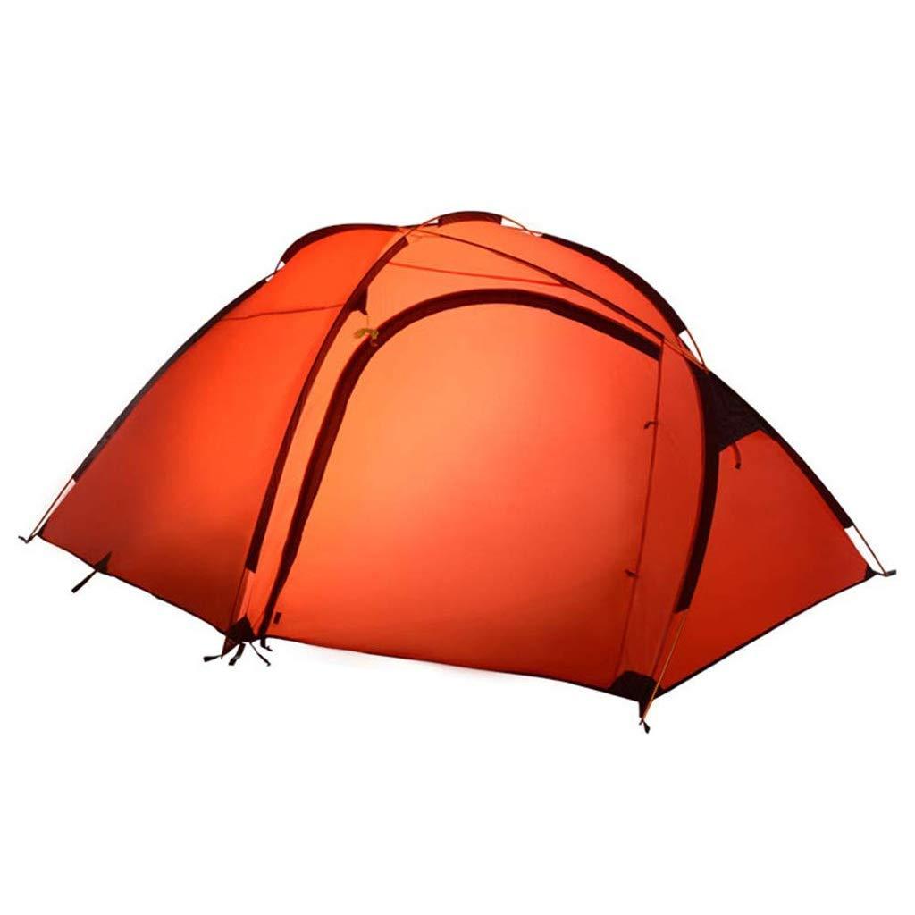 超美品 屋外の4-5人のテント、防水および紫外線保護キャンプテント、2色 (色 (色 : Red) Red) Red Red B07P3LVFCG, サプリメントハウス:a8fb140d --- ciadaterra.com
