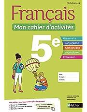 Français 5e Mon cahier d'activités (De Cazanove)