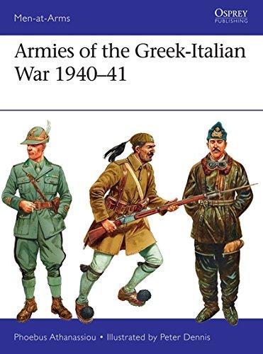 Armies of the Greek-Italian War 1940–41 (Men-at-Arms)