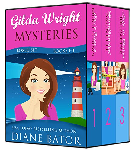 Gilda Wright Mysteries Boxed Set (Books 1-3) by [Bator, Diane]