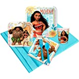 BirthdayExpress Disney Moana Party Supplies - Party Pack for 8