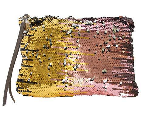 Secret Pon Pon , Pochette pour femme Multicolore multicolore B33 x H21cm