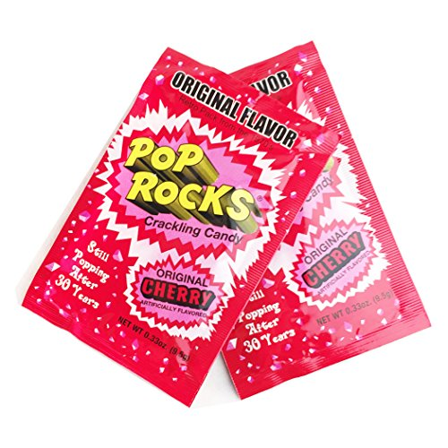 POP ROCKS Popping Candy, Cherry, 24 Count]()
