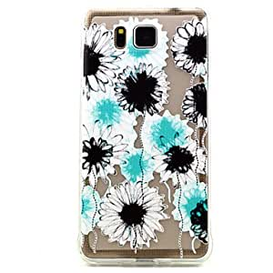 ZL Flowers Pattern TPU Soft Case for Samsung Galaxy Alpha G850 /G850F