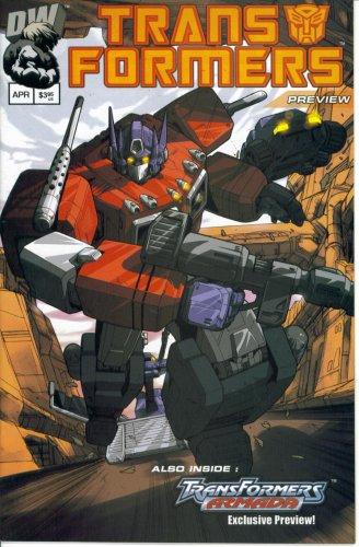 Transformers Generation One Preview #1 (DreamWave Comics)