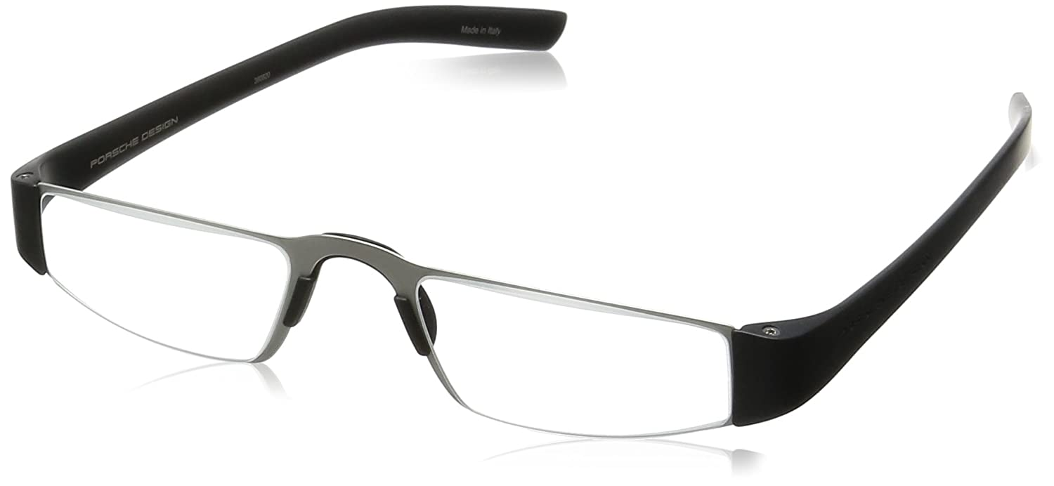 063a71a23 Amazon.com: Porsche Design Men's Eyeglasses P'8801 P8801 A Black Reading  Glasses 48MM +2.00: Shoes
