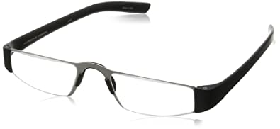 0aefb8f5df4 Image Unavailable. Image not available for. Color  Porsche Design Men s  Eyeglasses P 8801 P8801 A Black Reading ...