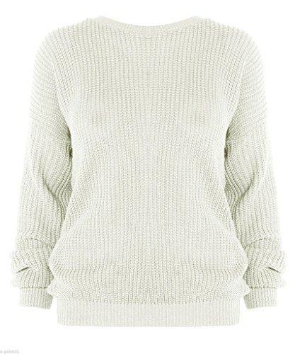 New Girl Fashions - Jerséi - para mujer crema