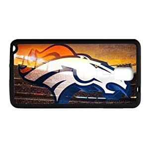 Hoomin Cool Denver Broncos Samsung Galaxy Note3 Cell Phone Cases Cover Popular Gifts(Laster Technology)