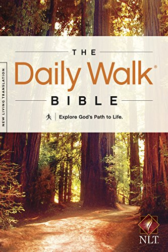 The Daily Walk Bible NLT (Daily Walk: Full Size) by [Tyndale]
